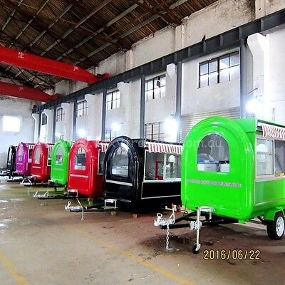 Food trailer 220x150x210CM(LxWxH) Brand new never been use many accessories