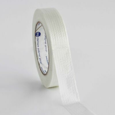 """360 Rolls 1"""" x 60 yd Filament Strapping Tape"""