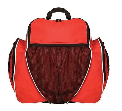 NEW Champion Soccer Bag Back Pack Backpack w/ Separate Ball & Cleat Pockets Red