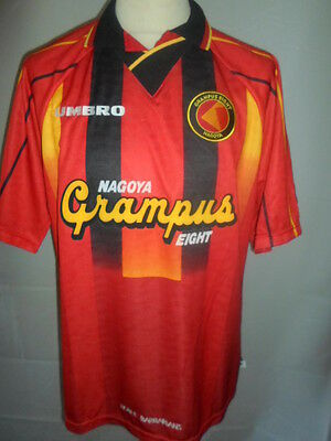Grampus Eight 1996-1998 Home Football Shirt Size Extra Large