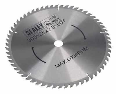 Sealey SMS12B60 Compound Mitre Saw Blade 305 x 25mm 60TPU