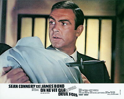 James Bond 007 Sean Connery You Only Live Twice 1967 Vintage Photo Lobby Card #6