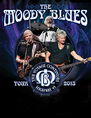 The Moody Blues 2013 Concert Poster (8x10 Photo)