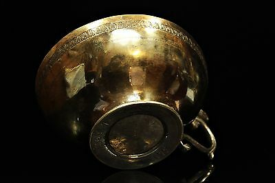 Antique Original Perfect 1879 Dated Armenian Silver Bowl
