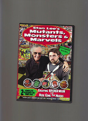 Stan Lee's Mutants, Monsters & Marvels DVD Spider-Man, Here Come the Heros
