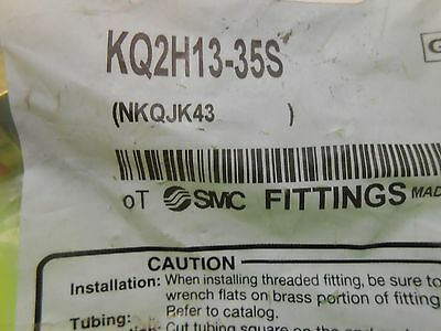 SMC Fittings KQ2H13-35S Male Connector, 1/2 x 1/4 In, Tube x NPT (lot of 4)