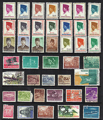 Asia INDONESIA Old Stamp Collection REF:PA342