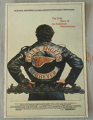 Carte Postale Postcard  - HELLS ANGELS FOREVER - The true story of an american..