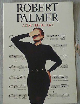 Carte Postale Postcard - ROBERT PALMER - Addicted To Love -