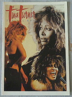 Carte Postale Postcard - TINA TURNER - Typical Male -