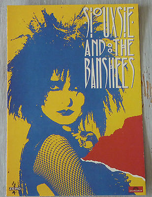 Carte Postale Postcard - SIOUXIE AND THE BANSHEES -