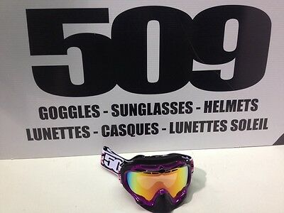 509 Sinister Pink Snow Goggles Snowmobile, #509-SINGOG-09-PI
