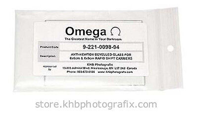 Anti-Newton Top Glass for Omega D-series 6x6 & 6x9 Rapid Shift Glass Carriers