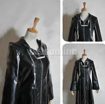 Kingdom Hearts II 2 Cloak Organization XIII 13 Cosplay Costume Anime Party NEW