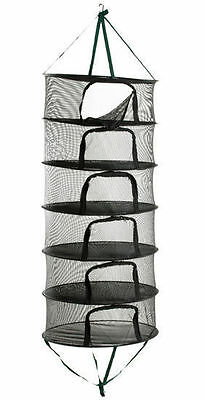 """STACK!T Drying Rack w/ Zipper 2 ft - medium collapsible mesh tray 24"""" stackit"""