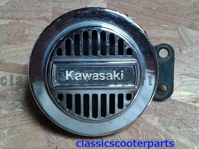 Kawasaki 1987 EL250 Eliminator horn with chipped chrome k87-CL250-022