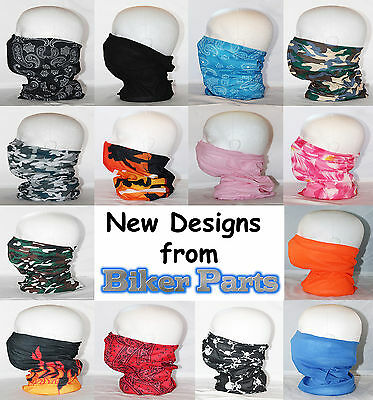 Choice of designs multifunction neck tube bandana cycle walking motorcycle bike