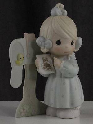 Vintage Figurine SHARING THE GOOD NEWS TOGETHER Enesco Precious Moments C-0011