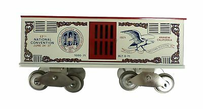 McCoy 1000-71 17th National Convention TCA STD Scale 1971 Circus Animal Train
