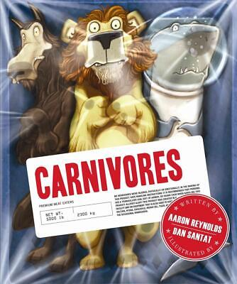 Carnivores by Aaron Reynolds Hardcover Book (English)