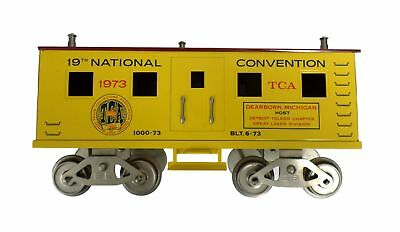 McCoy 1000-73 19st National TCA Train 6-73 Standard Scale Yellow Convention 1973