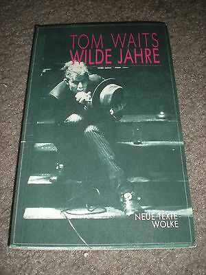 Tom Waits - Wilde Jahre - Frank's Trilogy Lyrics Book - German/english - 1987