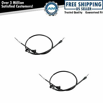 Emergency Parking Brake Cable Left & Right Pair For Volvo V70 S70 FWD NEW
