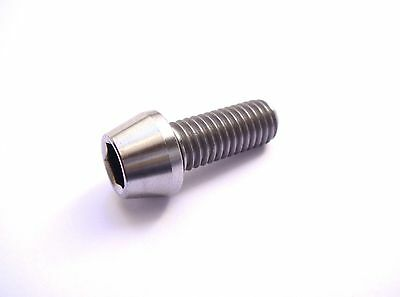 Vis titane / Ti screw Grade 5 - M8 x 20mm - tête conique BTR / taper socket head