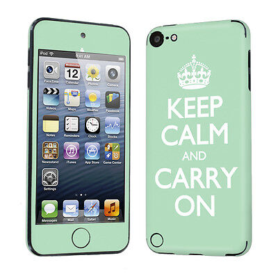 Apple iPod Touch 5 5th Gen Decal Vinyl Skin Sticker Mint Keep Calm And Carry On