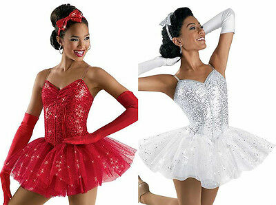 PARTY GIRL Ballet Tutu & Gloves CHRISTMAS SWAN LAKE Dance Costume Adult X-Large