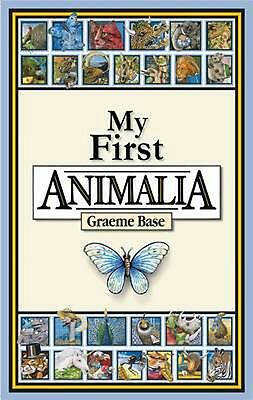 My First Animalia by Graeme Base Hardcover Book Free Shipping!