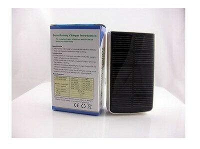 1W Solar charger with USB input charging for aa/aaa battery