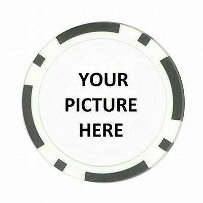 Custom Personalized Picture Photo or Logo Card Cover Poker Guard Casino Chip New