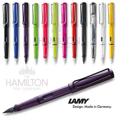 LAMY SAFARI FOUNTAIN PEN - all colours & nib sizes