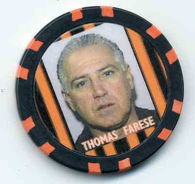 Thomas Farese  Gangster  Collector Chip