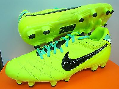 NIKE TIEMPO NATURAL IV LTR FG FOOTBALL BOOTS SOCCER CLEATS FIRM GROUND