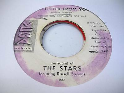 HEAR! Doo Wop Promo 45 THE STARS No Letter From You on Vega (Promo)