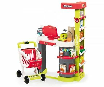Smoby City Shop Childrens Role Play Kids Toy Store Supermarket *fast Delivery*