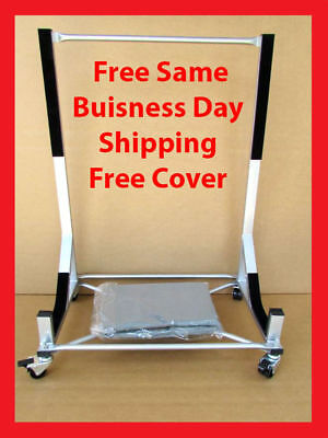 Toyota Mr2 Hard Top Stand Carrier Cart Free Cover New White Free Shipping