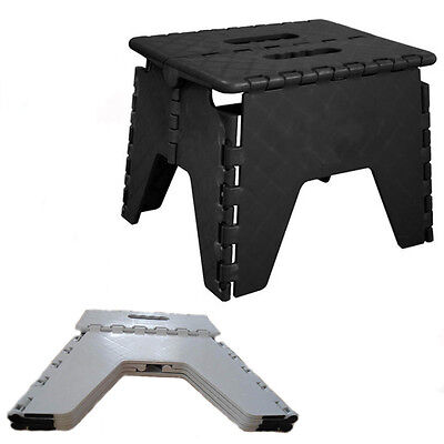 Step Stool Foldable Hard Multi Purpose Home Work Kitchen Easy Chair Single Step