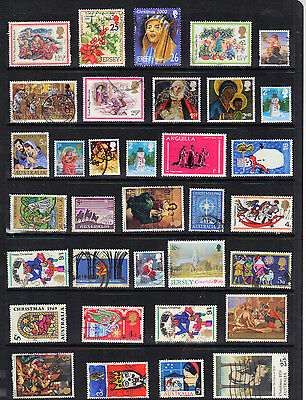 CHRISTMAS RELIGION Stamp Collection Ref:746