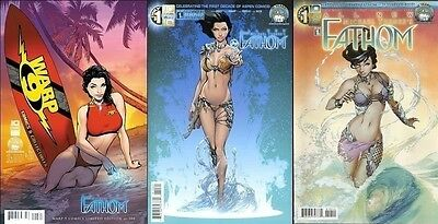 store variant ALL NEW MICHAEL TURNERS FATHOM #1 A/B + D exclusive /300 ASPEN