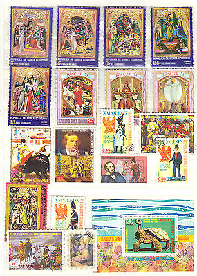 Africa GUINEA Stamp Collection REF:PA799