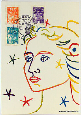 CPA  MAXIMUM POSTCARD MARIANNE   Yt3089