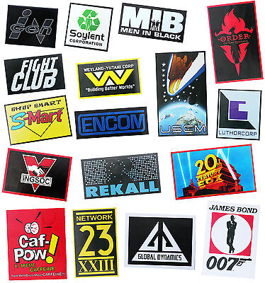 "Movie ""corporation Logo"" Fridge Magnet Collection - New"