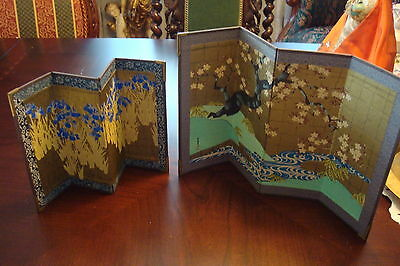 """Table dividers hand made in Japan, 10"""" by 7"""" and 13 1/2"""" by 8 1/2"""""""