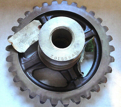 Large Brass 30 Tooth Worm Gear   201586A2A    with Acme Center NEW