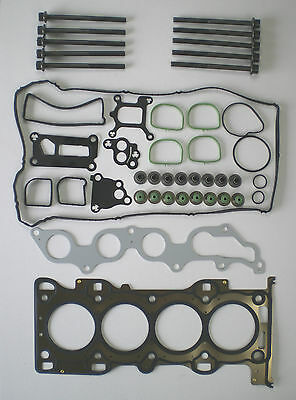 Head Gasket Set Bolts Focus Mondeo C-Max Mazda 5 6 1.8 Duratec Vrs Plas Rock Box