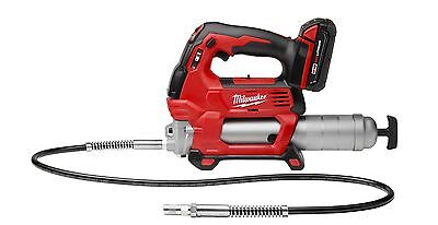 New Milwaukee 2646-21Ct M18 18 Volt Cordless Grease Gun Kit With Case Sale