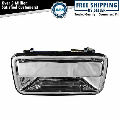 Outside Exterior Door Handle Rear Chrome Driver Left LH for Chevy Pickup Truck